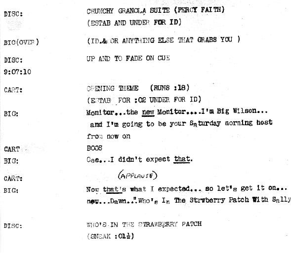 radio show script example